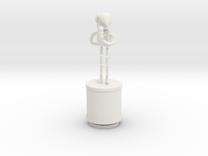Xmas13 MeganClegg Print V01 in White Strong & Flexible