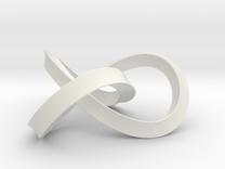 umbilic trefoil 2 in White Strong & Flexible
