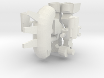 Snake Robot Complete Set in White Strong & Flexible