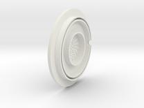 dino earpiece in White Strong & Flexible