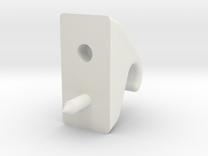 Murray_visor_clip in White Strong & Flexible