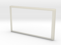 Ford Focus MK2 fascia border for FP-07-17 in Transparent Acrylic