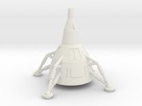 NASC Gemini Lander (S) in White Strong & Flexible