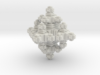 Mini Cube in White Strong & Flexible