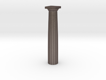 Parthenon Column Whole 1:100 in Stainless Steel