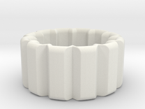 Cog ring in White Strong & Flexible