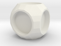 Cube1 in White Strong & Flexible