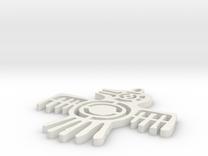 Ehdrigohr Crow's Mark in White Strong & Flexible
