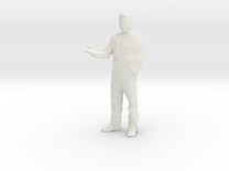 Architectural Man - 1:20 - Presenting  in White Strong & Flexible