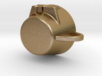 7XL Mug in Polished Gold Steel