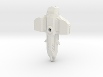 Demolisher 70mm in White Strong & Flexible