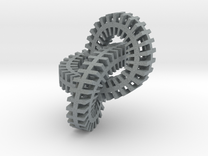 mobius metal in Polished Metallic Plastic