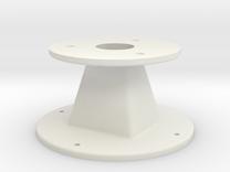 Throat adapter — custom job in White Strong & Flexible