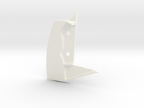 1/6 Panzer III  Suspension Guide - Right (PZ3001) in White Strong & Flexible Polished