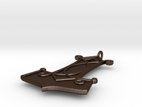 Thor Hammer Pendant in Matte Bronze Steel