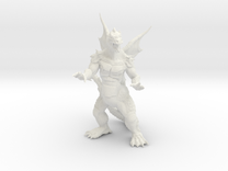 Pyrosaurus - Solid core 36mm in White Strong & Flexible