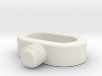 OP-1  STRAP SCREW in White Strong & Flexible