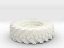 1/32 Rad für UNIMOG 411 SIKU in White Strong & Flexible