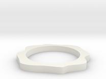 Sinus ring in White Strong & Flexible