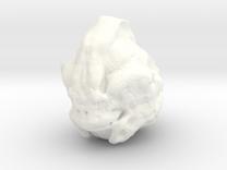 Alien Head in White Strong & Flexible Polished