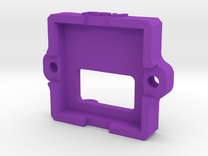 520TVL 3-5V Cam Housing Part02 V4 in Purple Strong & Flexible Polished