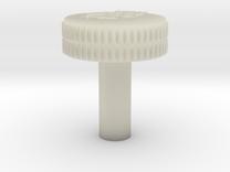 Heater Twist Control Knob in Transparent Acrylic