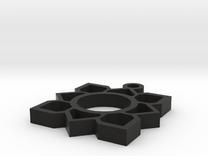 lotus design in Black Strong & Flexible