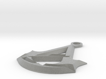 Assassins Creed Unity Keychain in Metallic Plastic