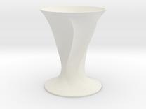 Elvio Vase in White Strong & Flexible