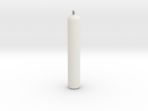 Gas Cylinder in White Strong & Flexible