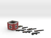 Flan's Mod German Guns and Weapon Box in Full Color Sandstone