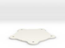 Torque Thrust D Centercap Thin in White Strong & Flexible