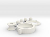 Ball Bearing in White Strong & Flexible