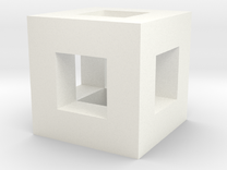Box Frame in White Strong & Flexible Polished