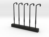Par Single Lamps in Black Strong & Flexible