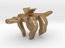 Dragonhugs in Matte Gold Steel