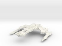Rutt'Kull Class BattleCruiser in White Strong & Flexible