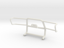 Pajero Bumper Type3 in White Strong & Flexible