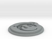 Salamander Team Necklace in Polished Metallic Plastic