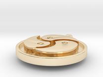 Triskelion in 14K Gold