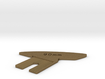 Focus Cam for 90mm on Linhof Technika, Level Bed in Raw Bronze