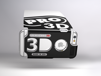 Stereoscopic attachment for iPhone 6 in White Strong & Flexible