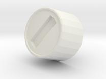 Mk III - SmallChestFastener in White Strong & Flexible