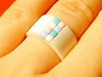 high 8-bit ring (US6/⌀16.5mm)  in White Strong & Flexible Polished
