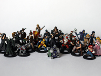 Epic Battle Figures in White Strong & Flexible