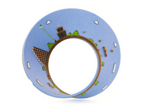 Super Mario Mobius Strip (4.2 inches) in Full Color Sandstone