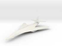 1/285 (6mm) B-1 Lancer in White Strong & Flexible