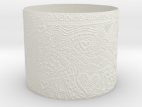 ValentineCuff in White Strong & Flexible