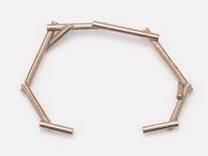 Stick open Bracelet in Stainless Steel