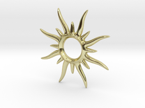 SunSpark Smal in 18K Gold Plated